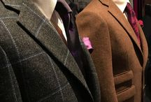 SET PIECE ready to wear from Hugo Morris Tailors / Tweed Suits & Jackets