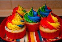 colorful / color rainbows