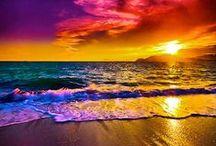 zachody słońca chmury / zachody słońca chmury