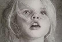 dzieci rysunek ołówkiem / dzieci rysunek ołówkiem