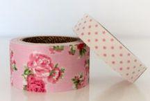 Washi, Fabric y Lace tape