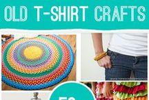 Tuunaa vanhat t-paidat / From t-shirts