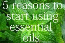 Aromaterapia / Essential oils