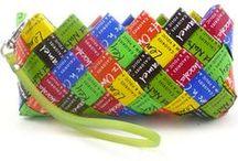 Karkkipapereista / Candy wrappers