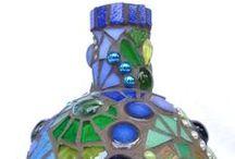 Mosaiikki, lasi jne / glass & mosaic