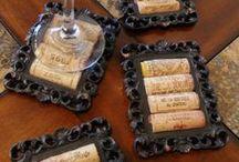 Viinipullonkorkit, laatikot - winecorks & boxes