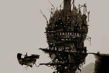 F A N T A S Y / steampunk / fantasy / sci-fi