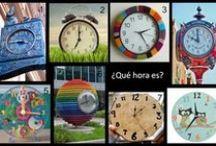 HORA Y HORARIOS / La hora y los horarios