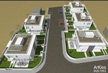 Complesso residenziale / Progetto per la realizzazione per un nuovo complesso residenziale - opera in fase di realizzazione