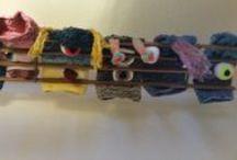 Yarn Bombing / Grafitti Knitting / Oh we love these / by Johnson's Wool & Haberdashery