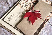 Wedding Inspiration: An Autumn Affair / Inspiration for your Autumn wedding