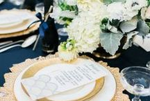 Wedding Inspiration: Gold Accents