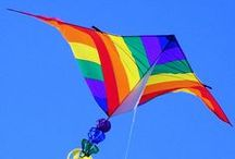 Up in the Air / Kites - Kite Surfing - Parachutes - Sky Diving - Hot Air Balloons - Planes