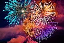 Fireworks ❤ / Fireworks - Pyrotechnics