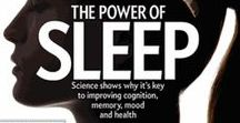 Sleep Science / Learn what makes sleep a key component in a healthy lifestyle.