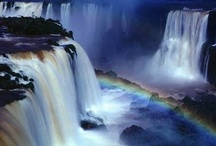 waterfalls around the world / by Brenda Shoopman