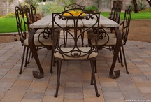 Sculpted Steel Dining Tables