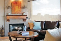 Sculpted Steel Fireplace Mantels & Surrounds