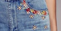 redo, revamp, recycle, relove / upfashion + embellish clothes