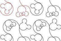 Yvonne Hansen / Pantograph pattern