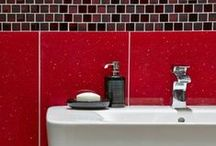 Red Wall & Floor Tiles / Red tiles add vibrancy to any room. Here's a few of our favourite ideas.