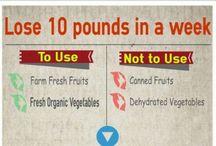Good Diet Tips / by Sara Algoe