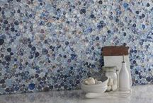 Mosaic Tiles / Here at Tile Mountain, we love a good mosaic tile. Judging by their popularity, it seems you do too! The ease with which they can be installed is one of their finer aspects as smaller tiles are easier to trim around pipework or corners and their flexible backing means they are easier to work with too.