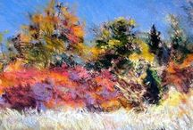 Art of Barry Monohon / For the enduring memory of Barry Monohon, artist. Landscapes in pastel, oil, acrylic, and mixed media.