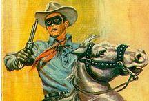 Western comics. / illustrations and comics cover.