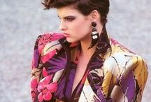 Style Flashback : 80s / A focus on the hairstyles and fashion that was popular in the 1980s.