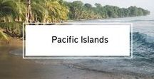 Pacific Islands / Pacific Islands Travel Inspiration: All you need to know about the Pacific Islands. Travel & Budget Tips.
