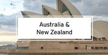 Australia & New Zealand / Australia and New Zealand Travel Inspiration: The Best of, Travel & Budget Tips and Itineraries.