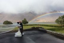 """Weddings in the Scottish Highlands / Scotland is a beautiful place for a wedding, with amazing scenery and great traditions. From kilts, to heather, to """"tying the know"""", a Scottish wedding is always special"""