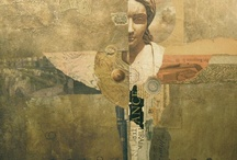 collage/mixed figurative / by Debbie Fox