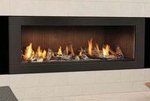 Gas Fireplaces - Modern / by Fireplace Warehouse ETC