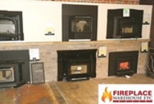 Wood Inserts / Some of the wood inserts available at FWETC.  These are designed to fit in an existing fireplace - very easy to install. / by Fireplace Warehouse ETC