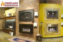 Gas Inserts / Gas Insert designs and options - please visit our showroom or website to see the brand and models we carry. / by Fireplace Warehouse ETC