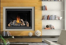Gas Fireplaces / Gas Fireplace designs and options - please visit our showroom or website to see the brand and models we carry. / by Fireplace Warehouse ETC