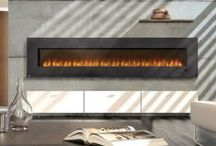 Electric Fireplaces / Easy installation, many sizes to choose from.  We have several of these on display. / by Fireplace Warehouse ETC
