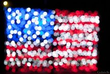 Red, White & Blue / by Amelia Parker