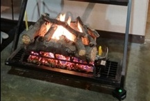 Gas Log Sets / You can fit a gas log set into an existing masonry firebox.  Many custom options to choose from. / by Fireplace Warehouse ETC