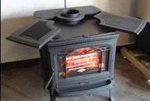 Pacific Energy Alderlea Stoves / The Alderlea is available in 3 sizes: T4, T5, & T6.  Great design and high quality at every level. / by Fireplace Warehouse ETC