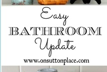 Bathroom Ideas / by Tonya @ Bonfire Boutique
