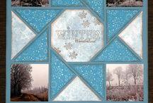 Scrapbooking - Winter