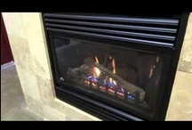 GD33/34 Napoleon Gas Fireplace / The BGD33/34 and GD33/34 have a small profile for a wide range of installation options.  Available in Top (34) or Rear (33) vent designs. / by Fireplace Warehouse ETC