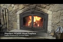 Napoleon High Country Wood Fireplaces / The NZ6000 and NZ3000 are impressive as heat sources and creating a great focal point to a large living space.   / by Fireplace Warehouse ETC