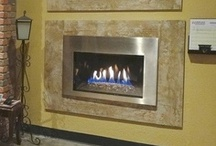 IR Napoleon Gas Inserts / The IR gas inserts offer a wide range of options to fit your design needs.  Available with different burner options:  log set, river rock, or fire glass.  And two sizes to meet your heating requirements. / by Fireplace Warehouse ETC