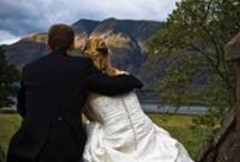 Weddings at Torridon / If you want truly beautiful and Scottish wedding, the Torridon offers a magnificent country house, luxury guest rooms, a stunning Highland landscape, kilts, tartan, a piper, not to mention magnificent food, fireworks and a romantic rosy dawn breaking across the loch