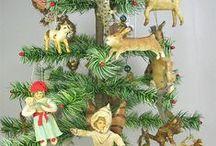 Spun cotton ornaments