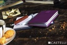 Castelli Diary Collection / Beautiful Italian styled diaries, sophisticated designs and intellegent content.